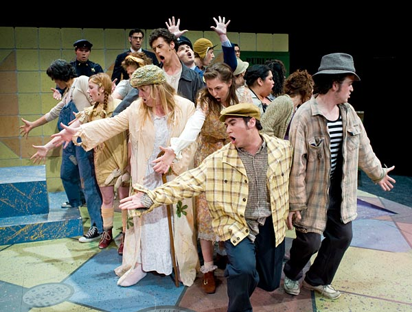 urinetown cast at SJSU